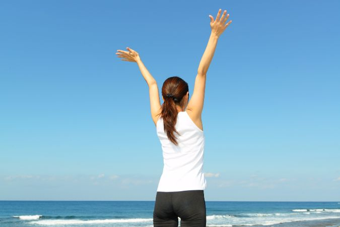 ウエストがきゅっと引き締まる「腹式呼吸ダイエット」のやり方とは